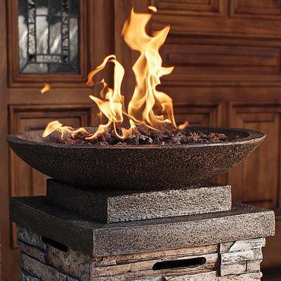 bowl burning