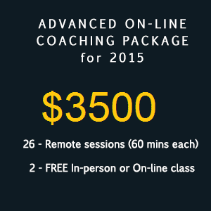 Advanced coaching package 3500
