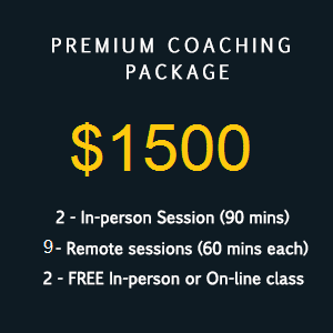 Premium Caoching package 1500 9