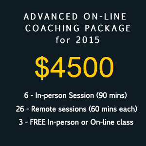 Premium Coaching package 4500