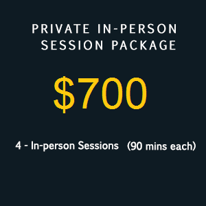 in person session package 700